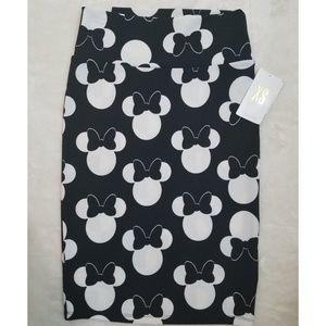 NWT Disney Minnie Mouse Lularoe Cassie XS
